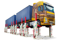 Mobile column lifts featuring ebright Smart Control System